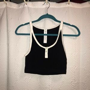 Robbed Crop Top Bralette